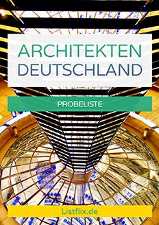 Architekten Deutschland Probeliste