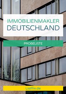 Immobilienmakler Deutschland Probeliste