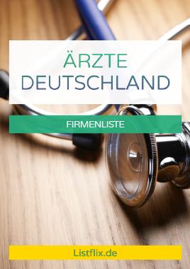 Abbildung: Cover der Liste Ärzte Adressen Deutschland