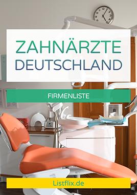 Cover Zahnarzt Adressen Deutschland