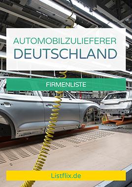 Automobilzulieferer Liste Deutschland
