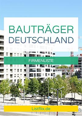 Bauträger Liste Deutschland