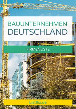 Bauunternehmen Liste Deutschland