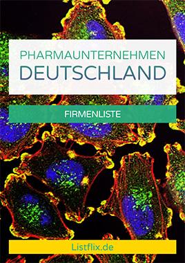 Pharmaunternehmen Liste Deutschland