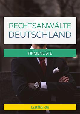 Rechtsanwälte Liste Deutschland