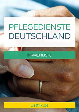 Pflegedienste Liste Deutschland