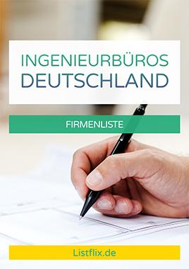 Liste Ingenieurbüros Deutschland