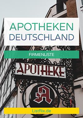 Apotheken Liste Deutschland
