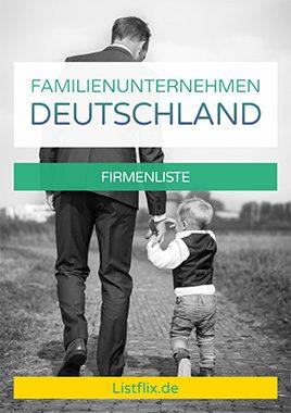 Familienunternehmen Liste Deutschland