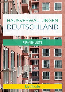 Hausverlwatungen Liste Deutschland