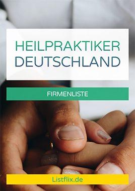 Liste Heilpraktiker Deutschland