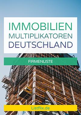 Immobilienmultiplikatoren Deutschland Cover