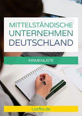 Mittelständische Unternehmen Liste Deutschland