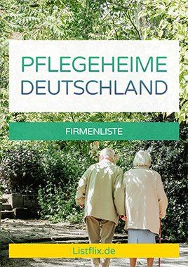 Pflegeheime Deutschland
