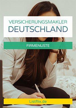 Versicherungsmakler Liste Deutschland